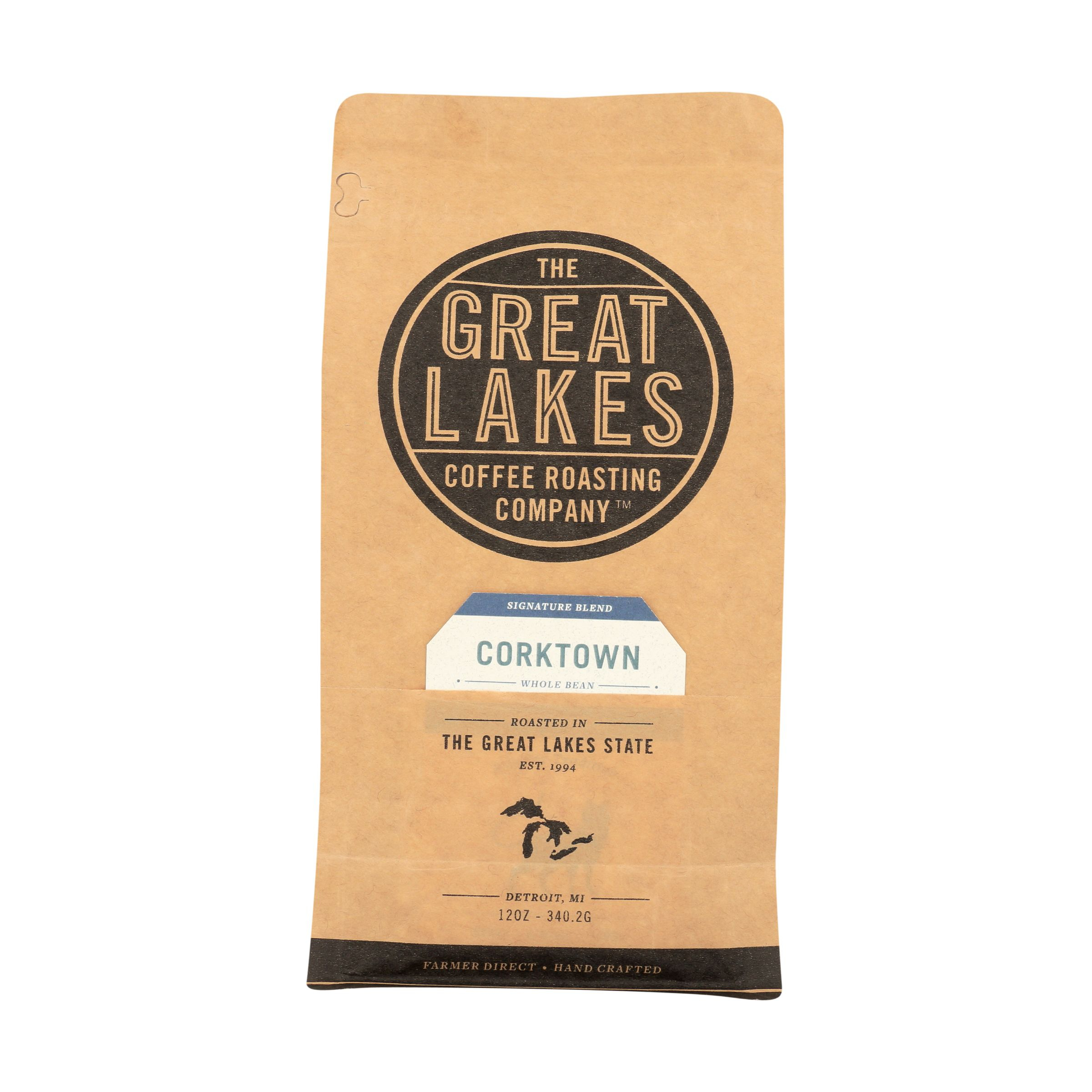 Coffee Corktown Signature Blend 12 Oz The Great Lakes Coffee Roasting Company Whole Foods Market