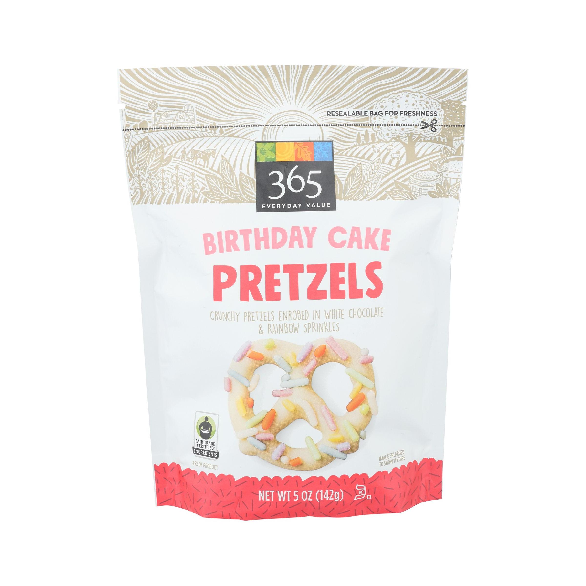 Awesome Birthday Cake Pretzels 5 Oz 365 Everyday Value Whole Foods Market Personalised Birthday Cards Rectzonderlifede